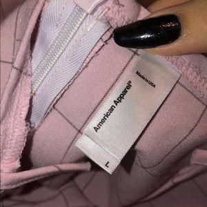 American Apparel Other - American Apparel pink grid romper